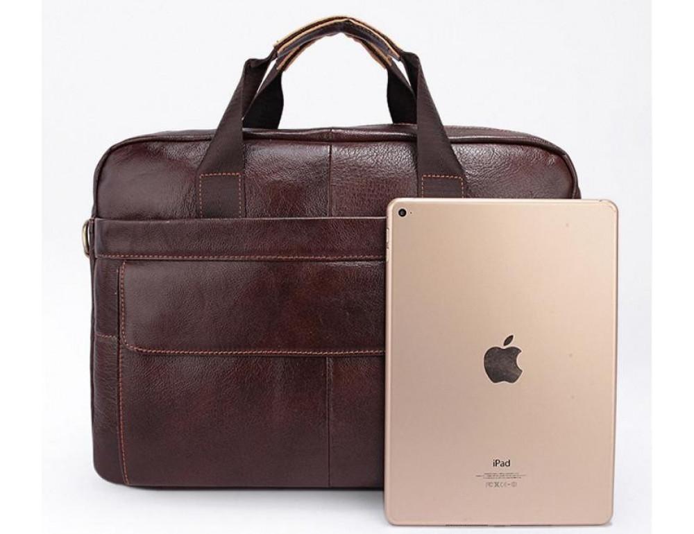 Мужская кожаная сумка Bexhill Bx1131C - Фото № 2