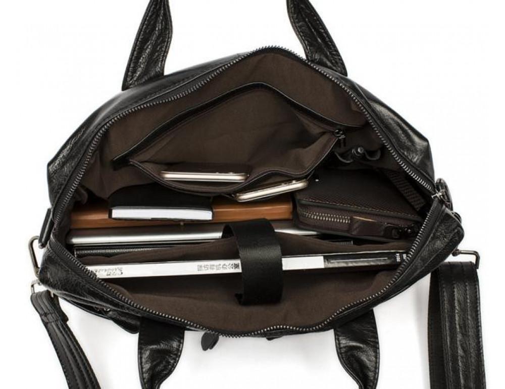 Мужской кожаный портфель Bexhill Bx9005A - Фото № 2