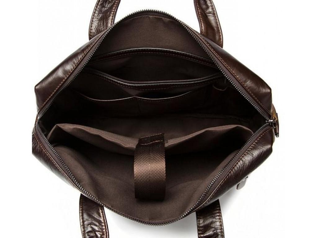 Мужской кожаный портфель Bexhill Bx9005C - Фото № 2