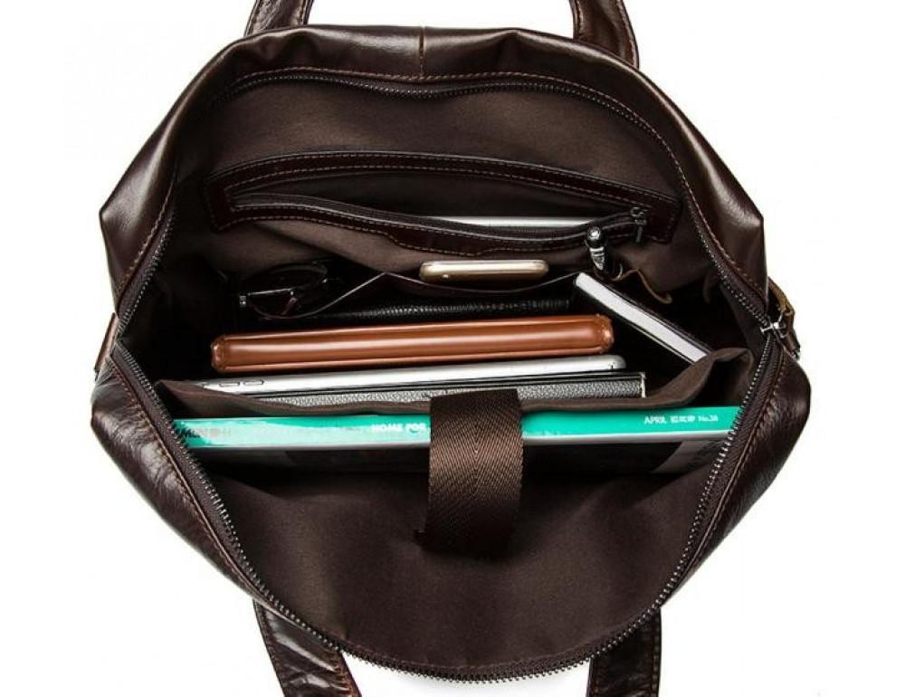 Мужской кожаный портфель Bexhill Bx9005C - Фото № 9