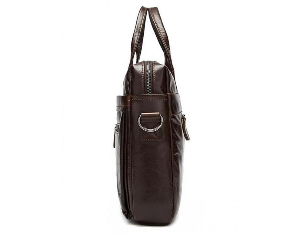 Мужской кожаный портфель Bexhill Bx9005C - Фото № 7