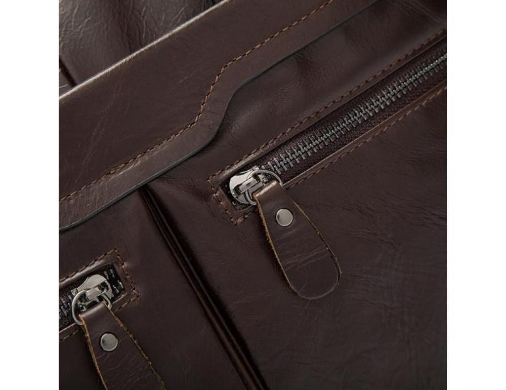 Мужской кожаный портфель Bexhill Bx9005C - Фото № 10