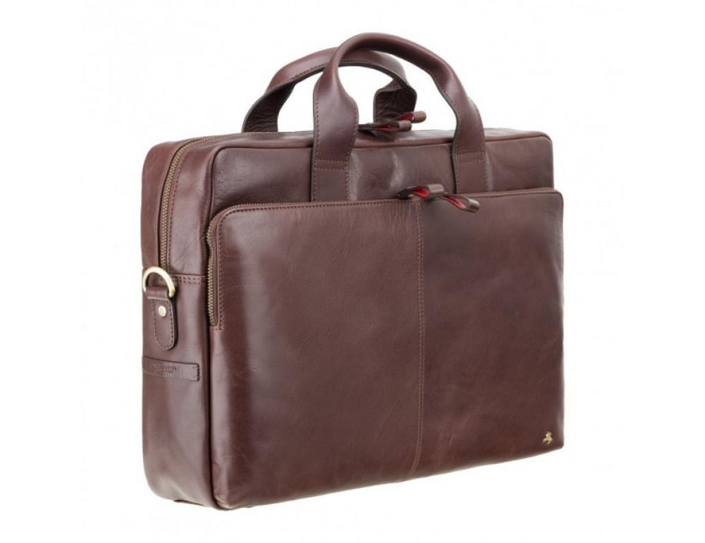 Сумка под macbook Visconti ML31 BRN коричневая (brown) - Фото № 3