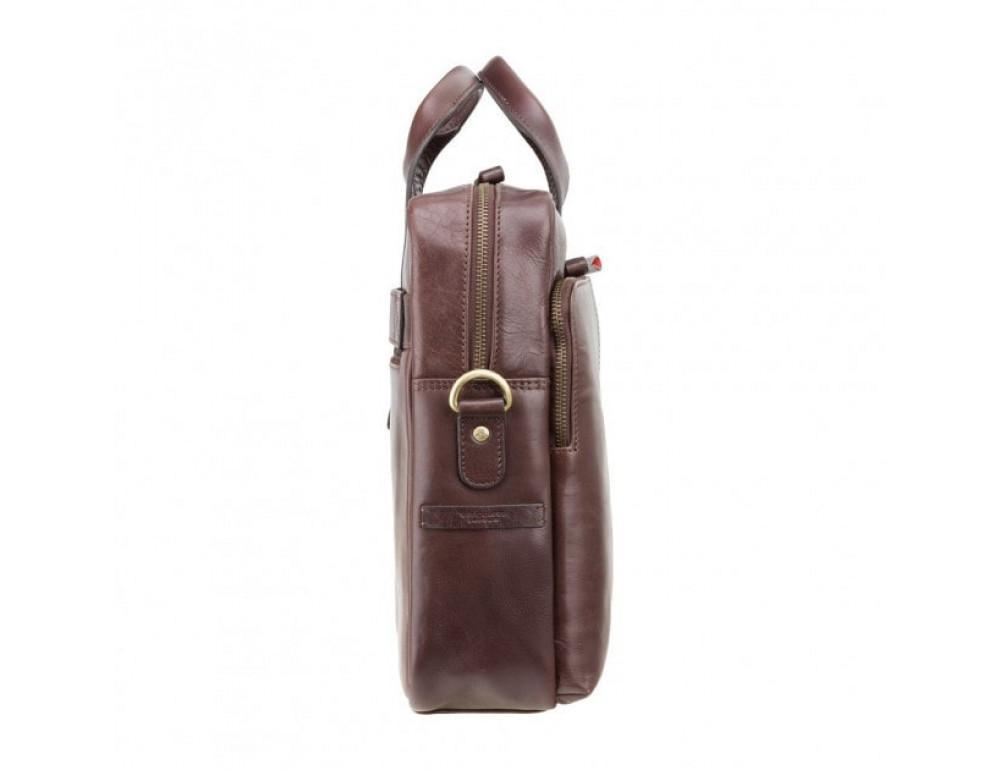 Сумка под macbook Visconti ML31 BRN коричневая (brown) - Фото № 4