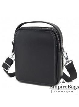 Мужской кожаный мессенджер TIDING BAG M711-3A чёрный