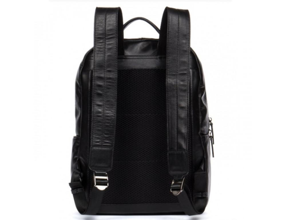Кожаный городской рюкзак Tiding Bag NM17-1281-3A чёрный - Фото № 8