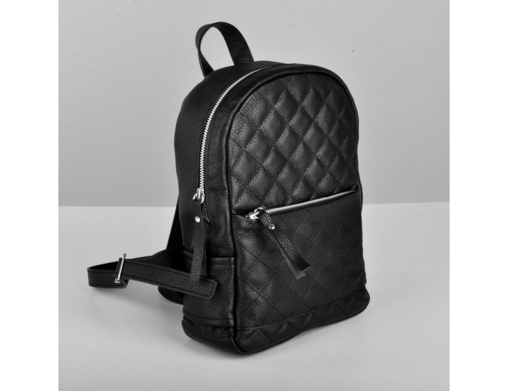 Женский кожаный рюкзак Jizuz Caspia Nude CA312310B чёрный - Фото № 2