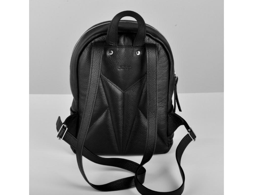 Женский кожаный рюкзак Jizuz Caspia Nude CA312310B чёрный - Фото № 4