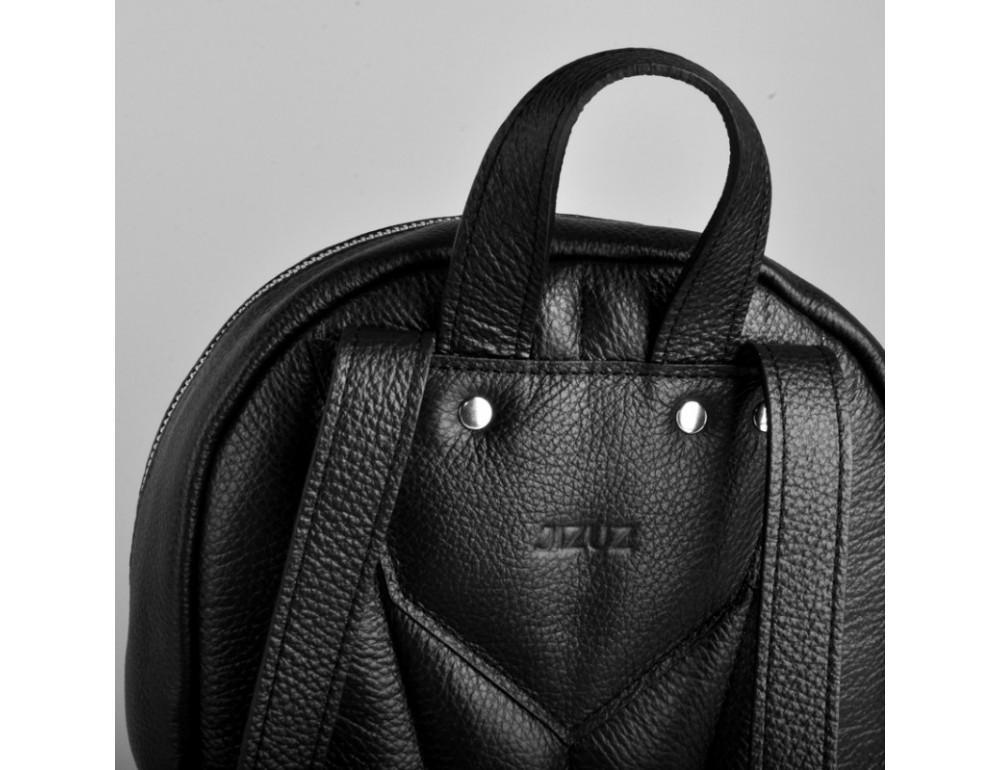Женский кожаный рюкзак Jizuz Caspia Nude CA312310B чёрный - Фото № 5