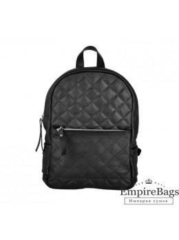 Женский кожаный рюкзак Jizuz Caspia Nude CA312310B чёрный