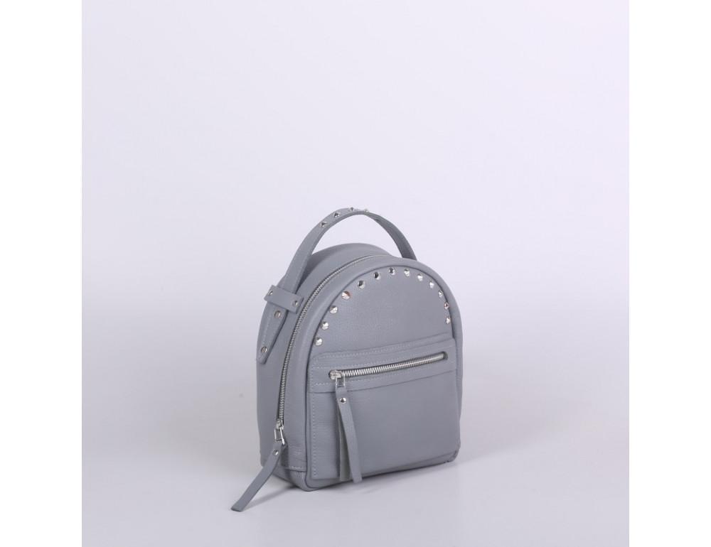 Женский кожаный рюкзак Jizuz fiji Nude FJ2521GR серый - Фото № 2