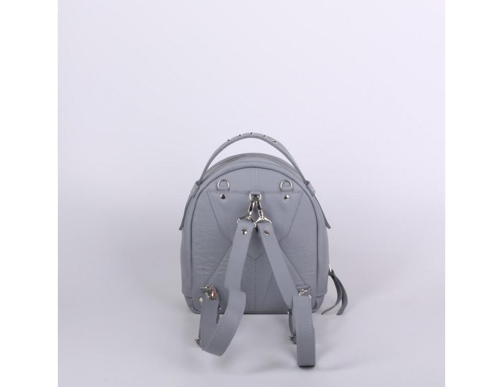 Женский кожаный рюкзак Jizuz fiji Nude FJ2521GR серый - Фото № 4
