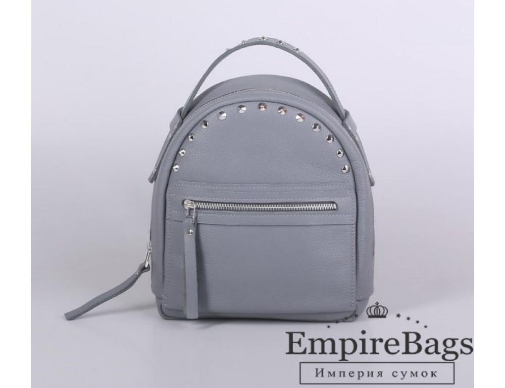 Женский кожаный рюкзак Jizuz fiji Nude FJ2521GR серый - Фото № 1