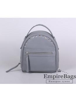 Женский кожаный рюкзак Jizuz fiji Nude FJ2521GR серый