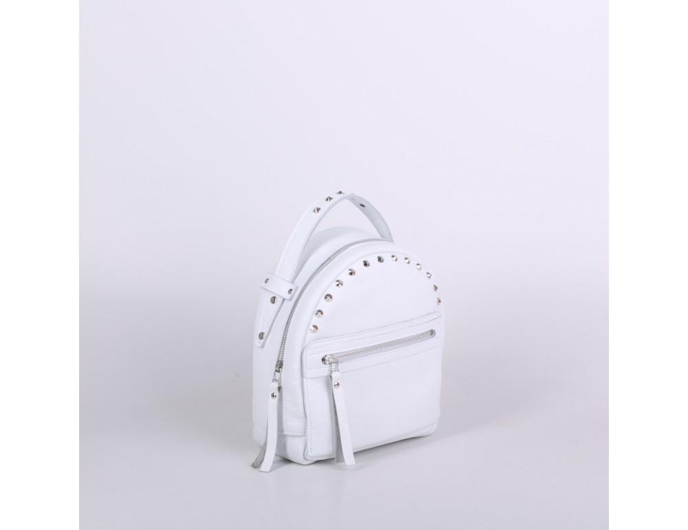Женский кожаный рюкзак Jizuz fiji Nude FJ25219WT белый - Фото № 2