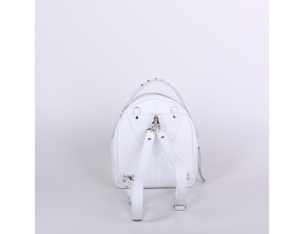 Женский кожаный рюкзак Jizuz fiji Nude FJ25219WT белый - Фото № 4