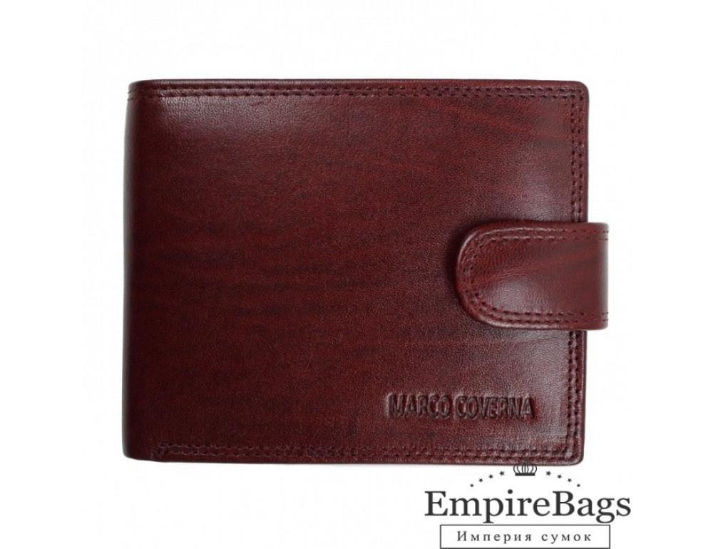 Мужской кожаный портмоне Marco Coverna TR996-198B коричневый - Фото № 1