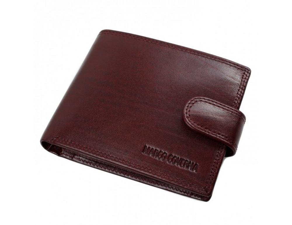Мужской кожаный портмоне Marco Coverna TR996-198B коричневый - Фото № 2