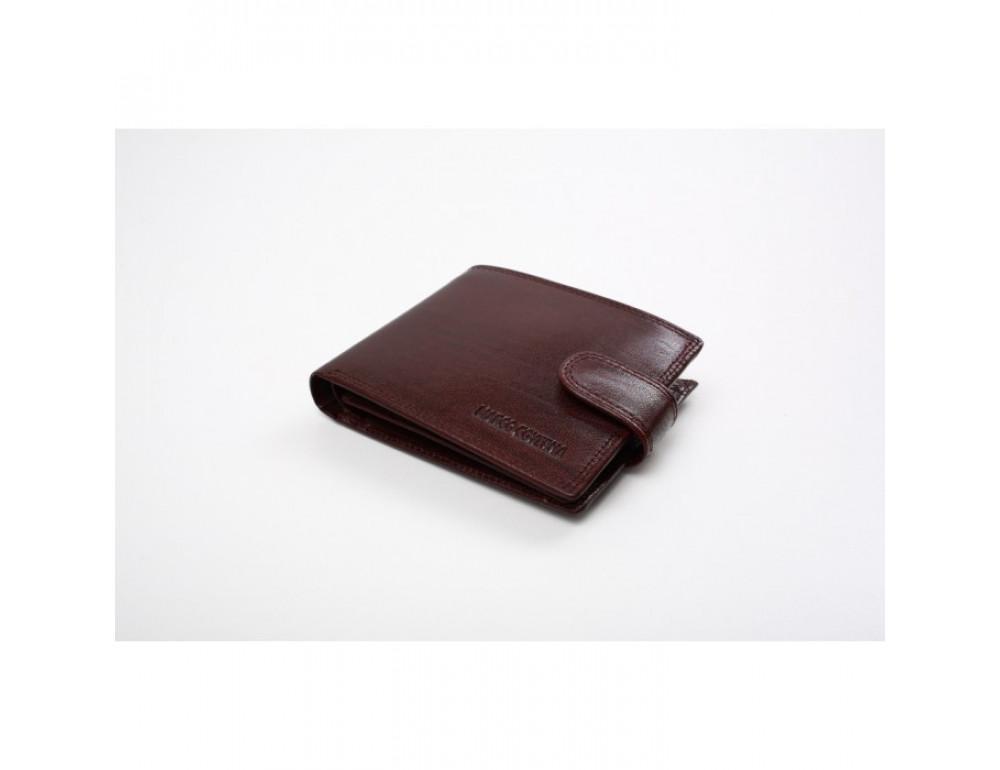 Мужской кожаный портмоне Marco Coverna TR996-198B коричневый - Фото № 3