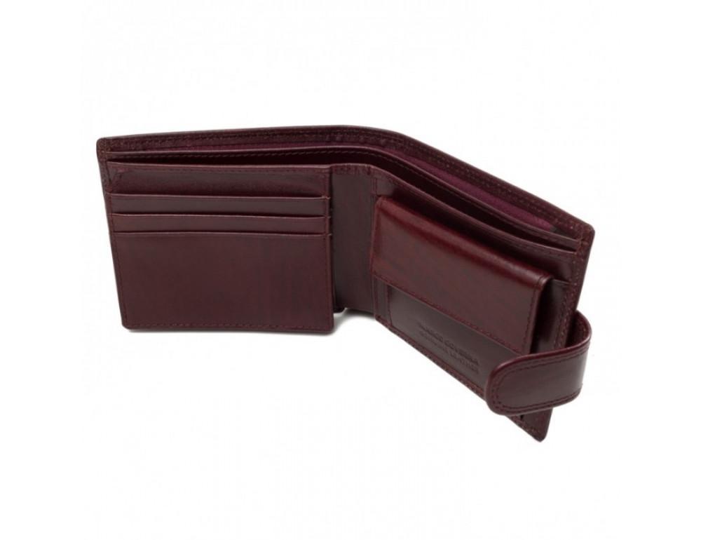 Мужской кожаный портмоне Marco Coverna TR996-198B коричневый - Фото № 4