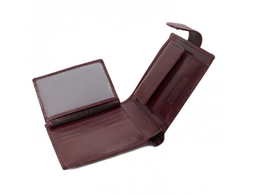 Мужской кожаный портмоне Marco Coverna TR996-198B коричневый - Фото № 5