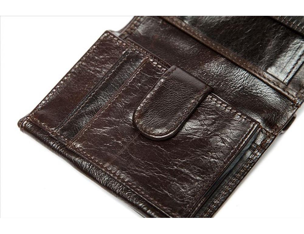 Мужской кожаный портмоне Bexhill Bx515C - Фото № 5