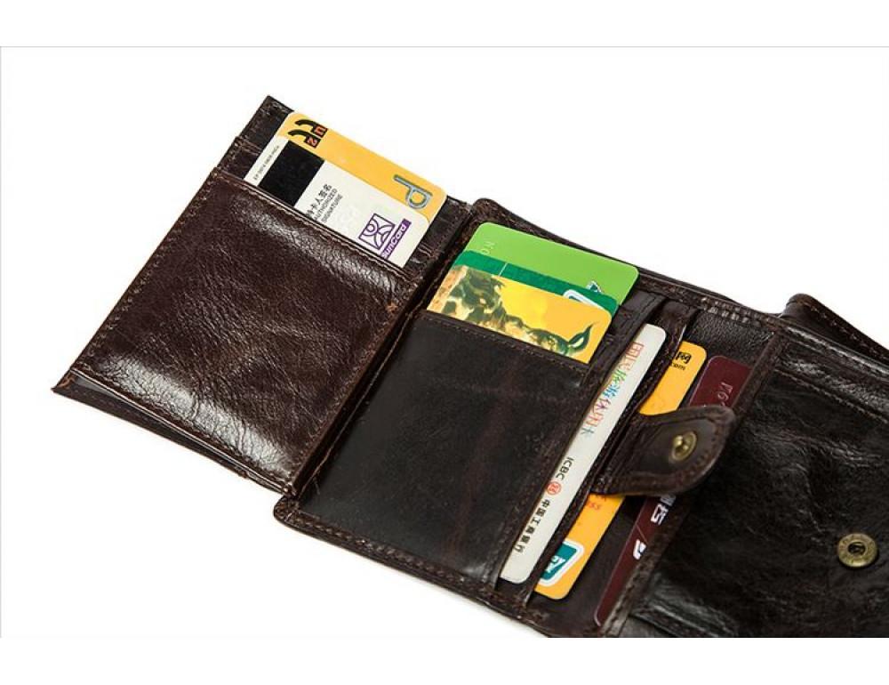 Мужской кожаный портмоне Bexhill Bx515C - Фото № 6