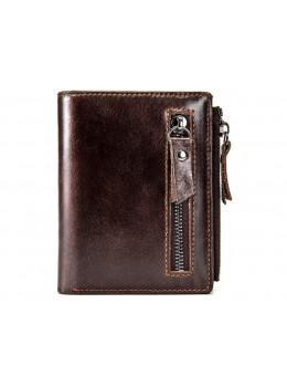 Коричневый кожаный портмоне Bexhill BX6046C