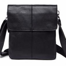Чорна чоловіча сумка-месенджер Bexhill Bx8005A