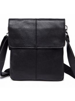 Чёрная мужская сумка-мессенджер Bexhill Bx8005A