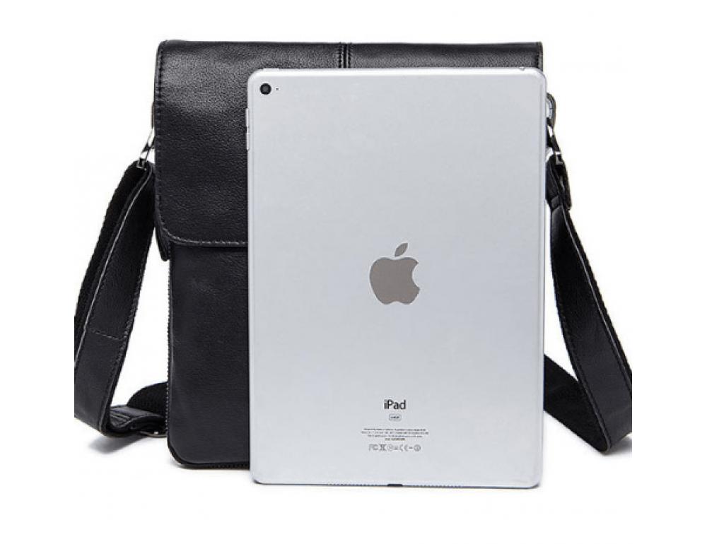 Чорна чоловіча сумка-месенджер Bexhill Bx8005A - Фотографія № 3