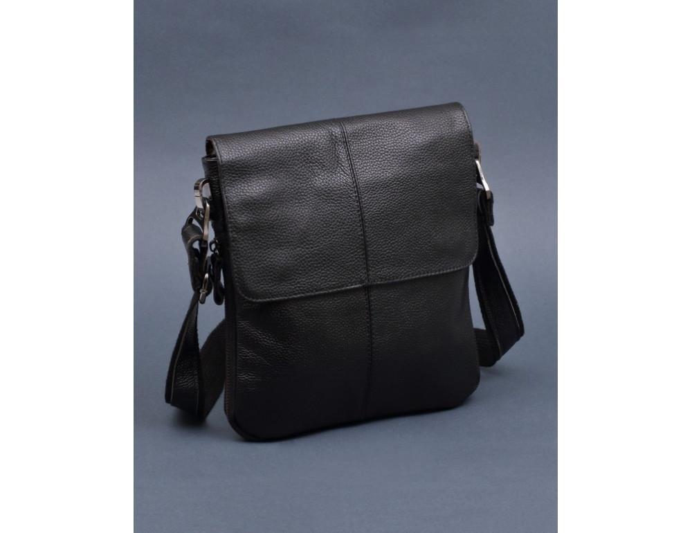 Чорна чоловіча сумка-месенджер Bexhill Bx8005A - Фотографія № 7