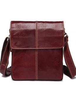 Бордова чоловіча сумка-месенджер Bexhill Bx8005BRD