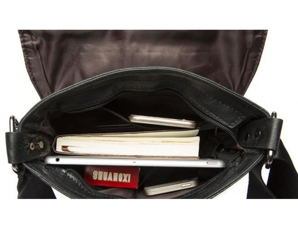 Мужская кожаная сумка-мессенджер Bexhill Bx8239A - Фото № 11