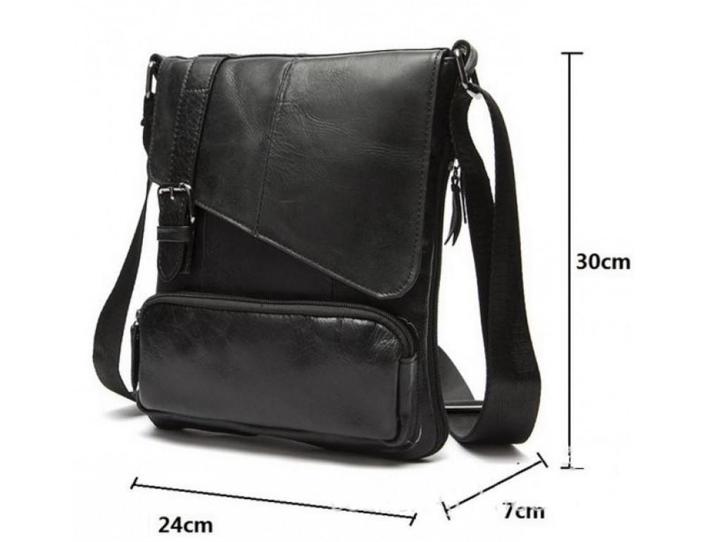 Мужская кожаная сумка-мессенджер Bexhill Bx8239A - Фото № 4