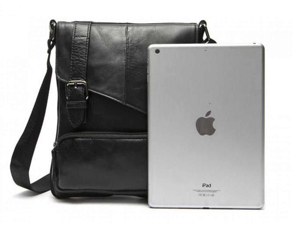 Мужская кожаная сумка-мессенджер Bexhill Bx8239A - Фото № 3