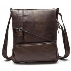 Чоловіча шкіряна сумка-месенджер Bexhill Bx8239C