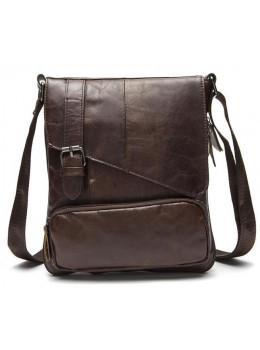 Мужская кожаная сумка-мессенджер Bexhill Bx8239C
