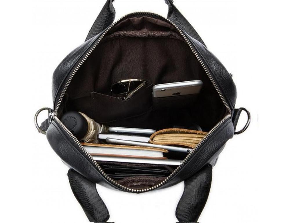 Мужская кожаная сумка через плечо Bexhill Bx8809C - Фото № 5