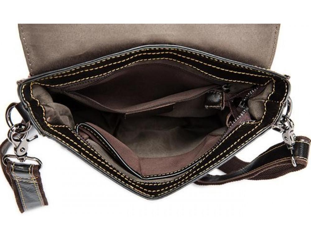Мужская кожаная сумка-мессенджер Bexhill Bx8821C - Фото № 11