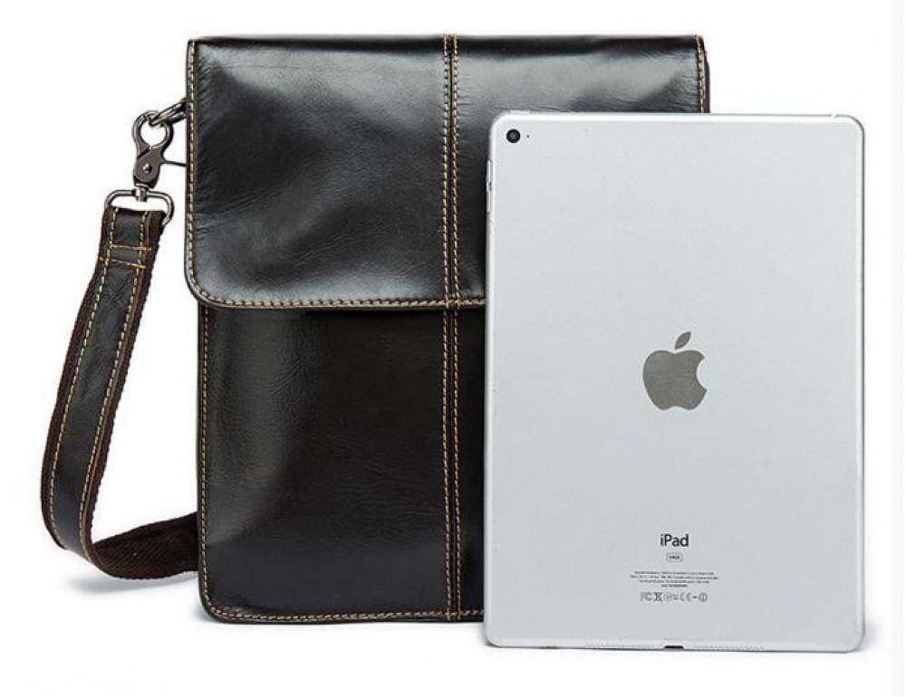 Мужская кожаная сумка-мессенджер Bexhill Bx8821C - Фото № 4