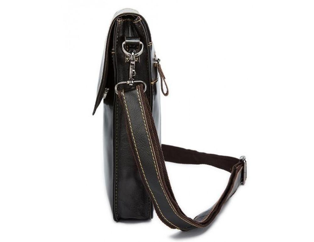 Мужская кожаная сумка-мессенджер Bexhill Bx8821C - Фото № 3