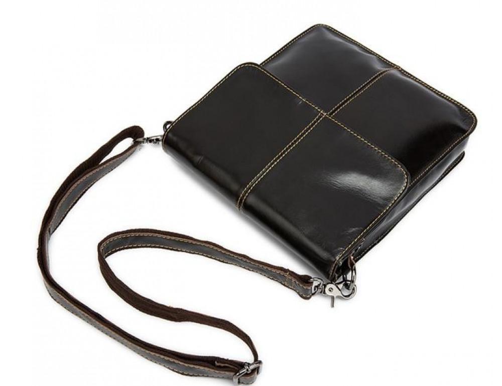 Мужская кожаная сумка-мессенджер Bexhill Bx8821C - Фото № 9