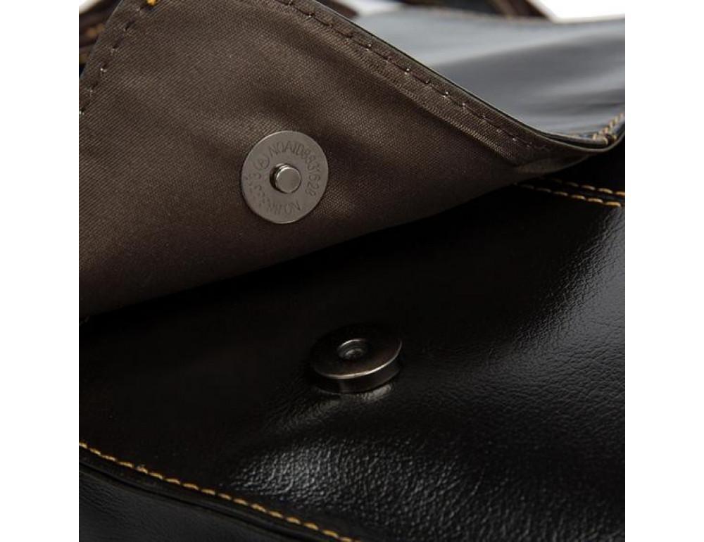 Мужская кожаная сумка-мессенджер Bexhill Bx8821C - Фото № 7