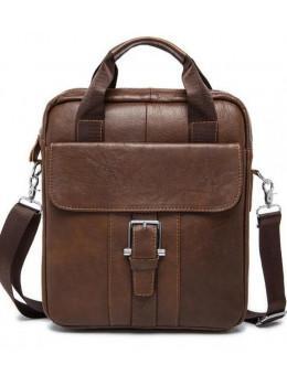 Мужская кожаная сумка через плечо Bexhill Bx8809C
