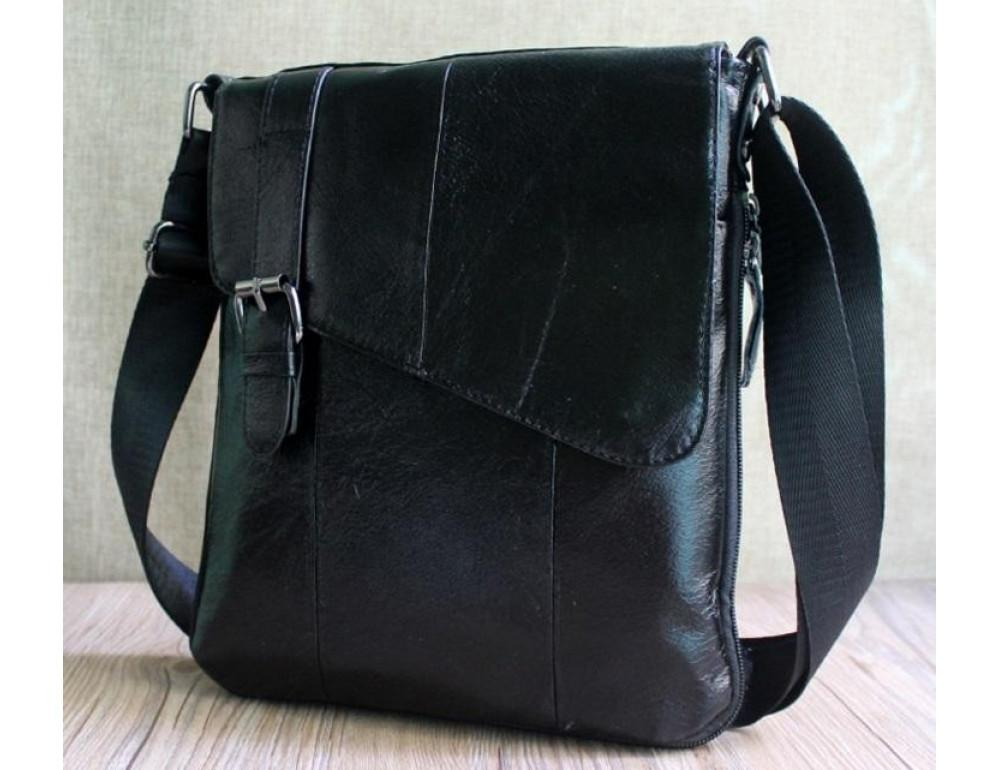 Мужская кожаная сумка-мессенджер Bexhill BX9035A - Фото № 7