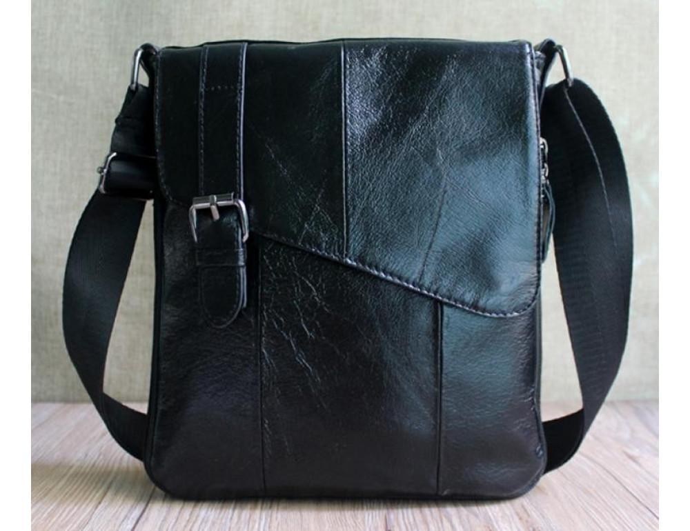 Мужская кожаная сумка-мессенджер Bexhill BX9035A - Фото № 6
