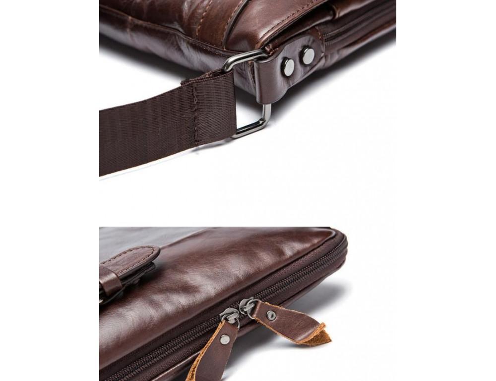 Чоловіча шкіряна сумка-месенджер Bexhill Bx9035C - Фотографія № 8