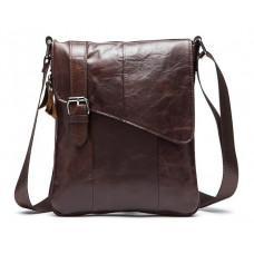 Чоловіча шкіряна сумка-месенджер Bexhill Bx9035C