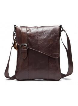Мужская кожаная сумка-мессенджер Bexhill Bx9035C